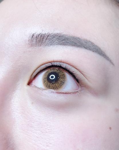 【台中隱形眼線】 網美集中地Double Q極致美學,繡眼線後素顏也能美美的/紋眼線之後眼神變得好深邃好推薦