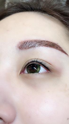 【隱形眼線】台中紋眼線~這麼厲害的繡眼線技術一定要分享給大家的呀|超級喜歡閨密在樂比紋的隱形眼線◆真的好適合她呦!