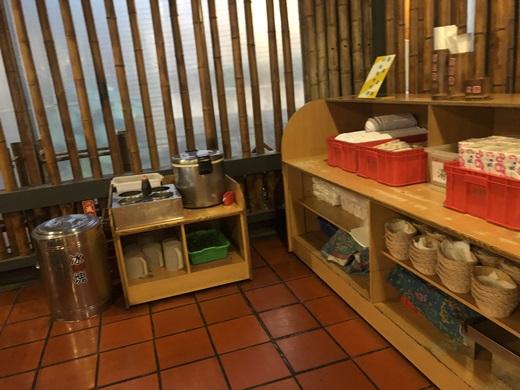 餐具醬料區