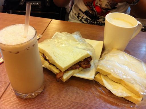 肉蛋吐司,台中超人氣早餐店