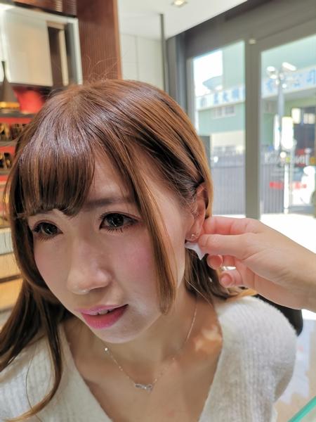 金飾店耳環