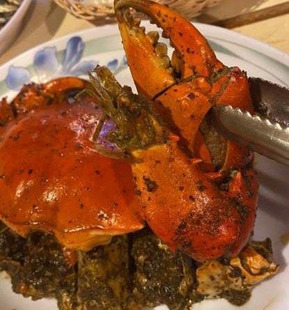 黑胡椒蟹海鮮