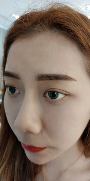 台中母胎濃眉半永久彩妝