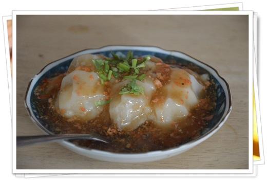 台南的蝦仁肉圓